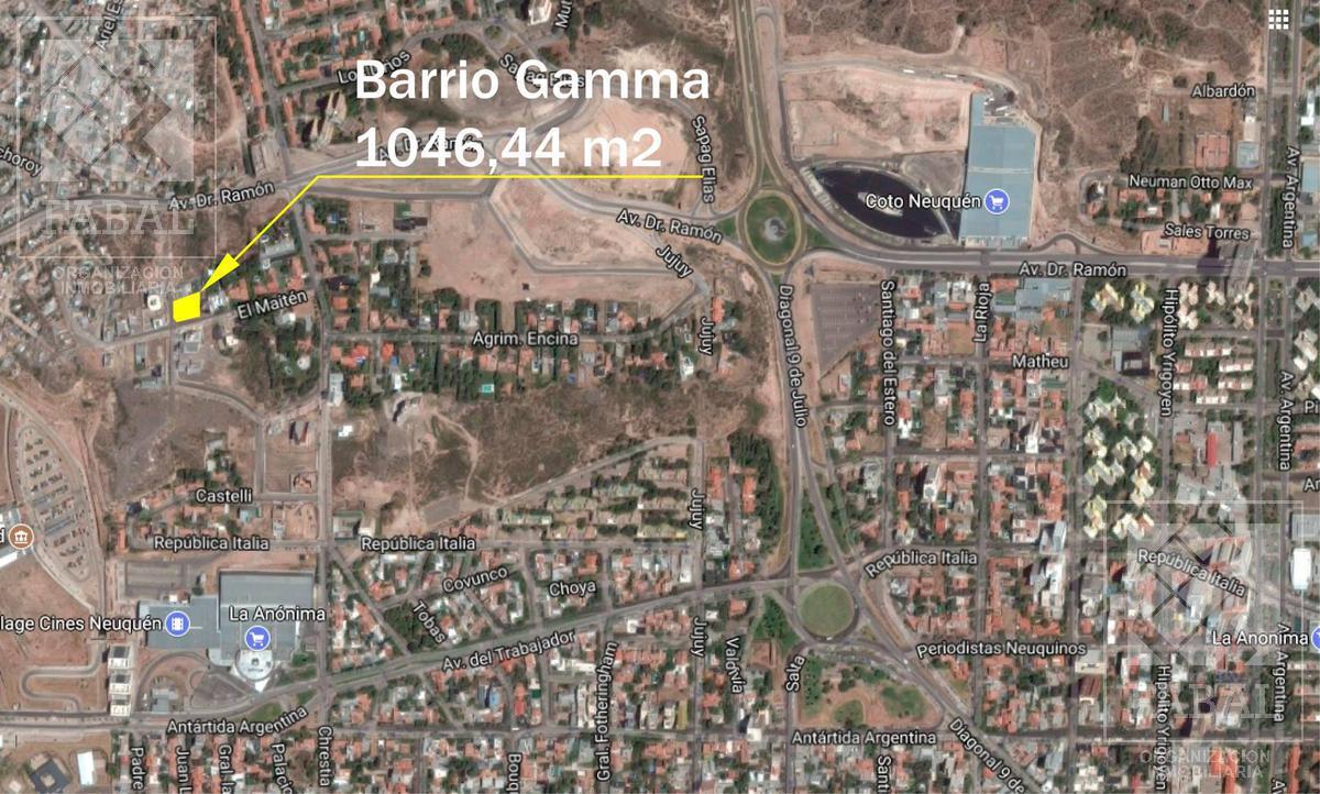 Foto Terreno en Venta en  Área Centro Oeste,  Capital  El Maitén 1100 - Barrio Gamma