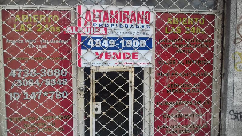 Foto Local en Alquiler | Venta en  Villa Ballester,  General San Martin  América al 4500 e/ José Hernández y La Paz
