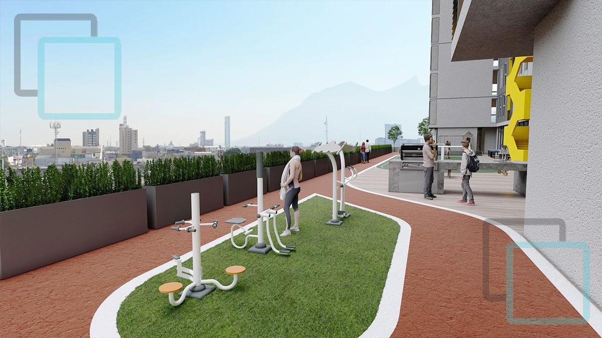 Foto Departamento en Venta en  Monterrey ,  Nuevo León  DEPARTAMENTO EN VENTA ARENA CALZADA CENTRO DE MONTERREY