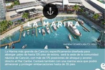 Foto Departamento en Venta en  Puerto Cancún,  Cancún  Departamento en Venta en Cancun,  ALLURE  PentHouse Con Vista al Mar 4 recámaras , Puerto Cancún