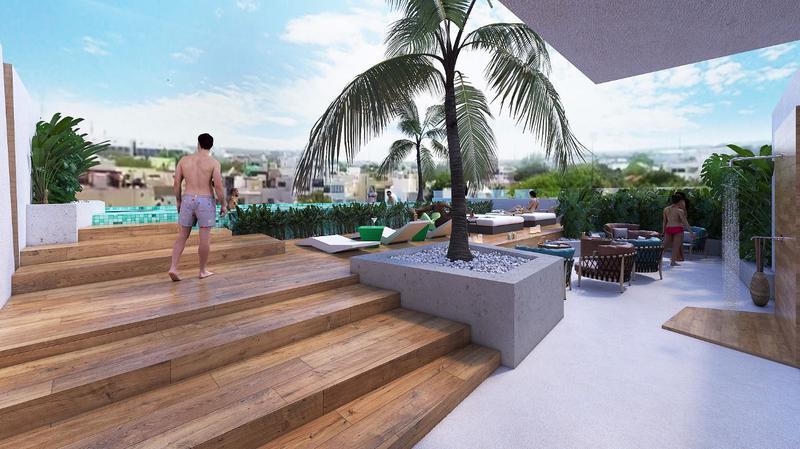 Playa del Carmen Centro Departamento for Venta scene image 12