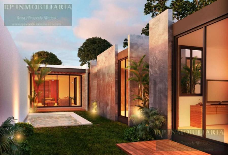 Foto Casa en Venta en  Pueblo Cholul,  Mérida  CASAS DE UNA PLANTA TRES RECAMARAS EN VENTA EN CHOLUL NORTE DE MERIDA VILADIU