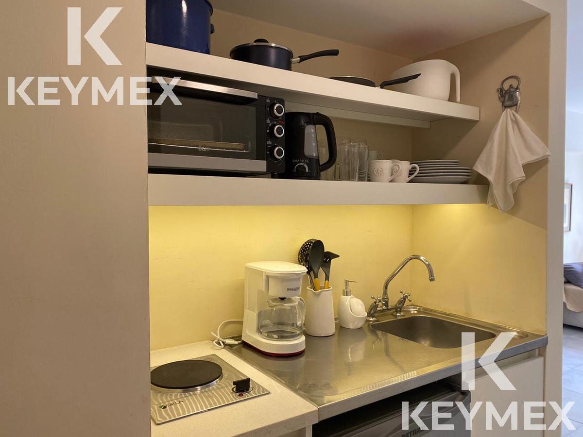 Foto Departamento en Alquiler temporario en  Recoleta ,  Capital Federal  Monoambiente terraza común y seguridad 24 hs