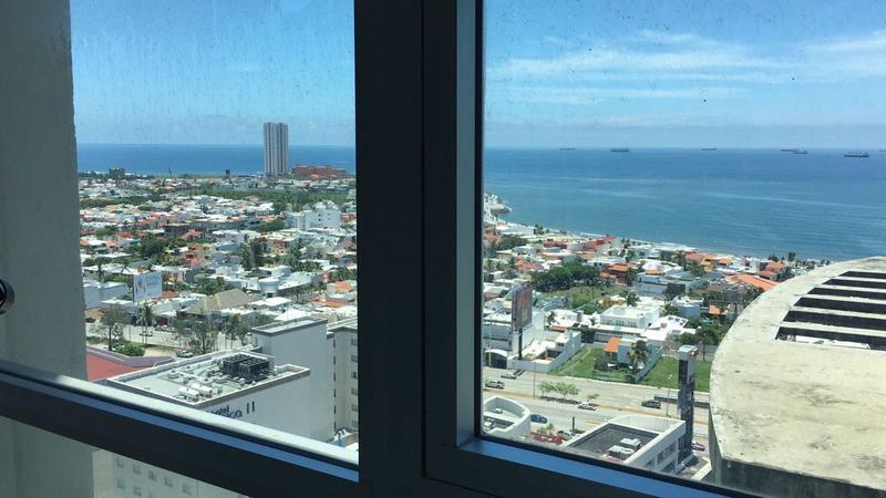 Foto Departamento en Venta en  Playa de Oro,  Boca del Río  Departamento en VENATA en Boca Tower con Vista al Mar (PISO 19)