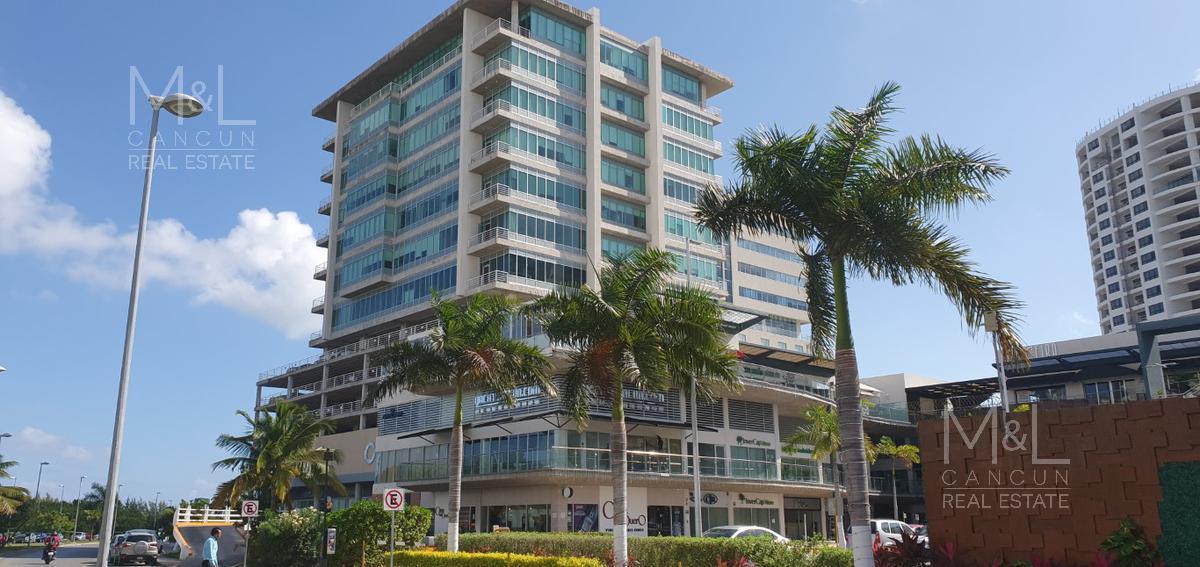 Foto Oficina en Venta en  Supermanzana 6a,  Cancún  Oficinas en Venta en Cancùn  Spectrum Corporate Center, Vista  Panoràmica, Avenida Sayil,
