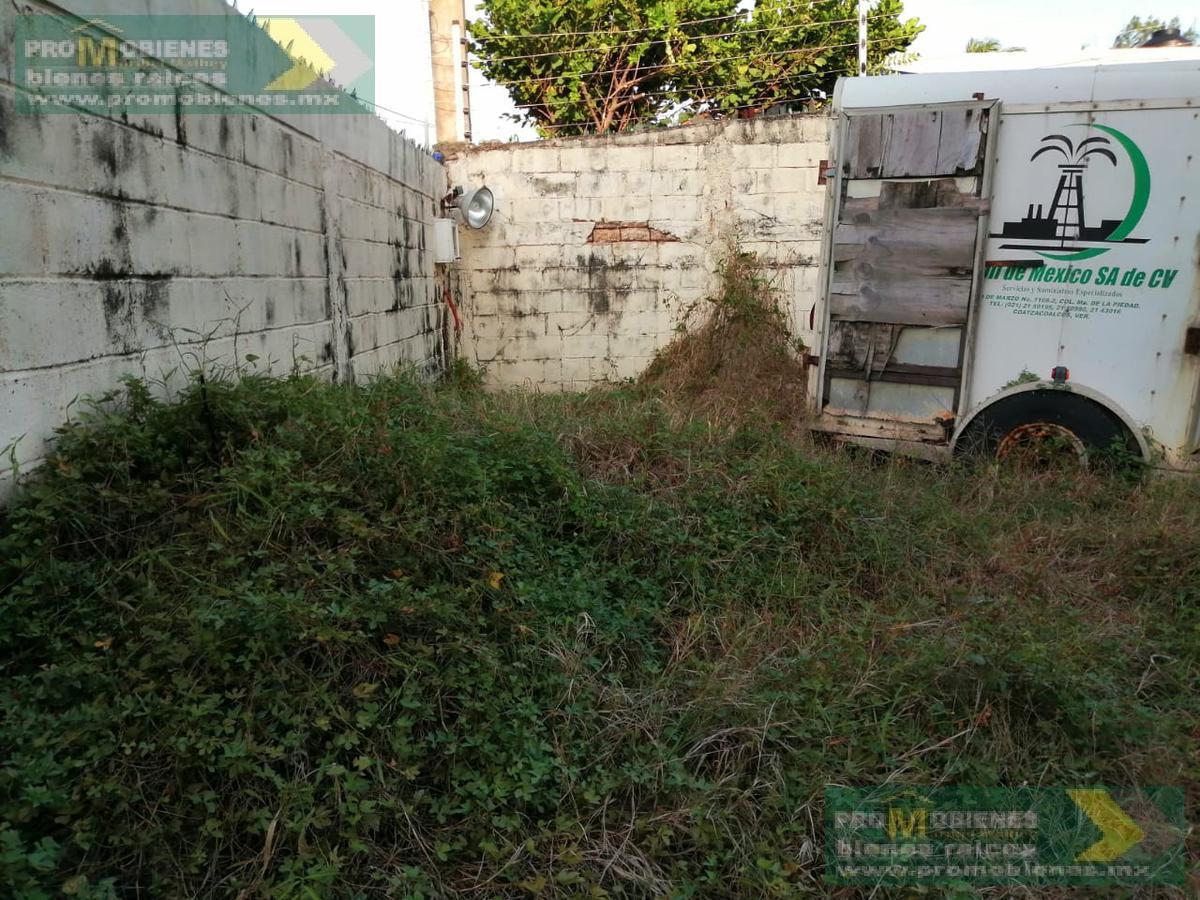 Foto Terreno en Venta en  Coatzacoalcos ,  Veracruz  TERRENO EN COL, PUERTO MEXICO