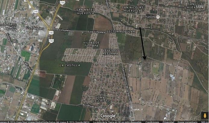 Foto Terreno en Venta en  Ahuehuetes,  Texcoco  TEXCOCO, ESTADO DE MÉXICO POBLADO DE SAN LUIS HUEXOTLA  CALLE CAMINO A HUEXOTLA S/N ESQUINA,  CAMINO SAN MARCOS