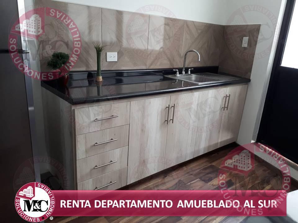 Foto Departamento en Renta en  Fraccionamiento Las Américas,  Aguascalientes  Departamento Amueblado en renta al sur en Aguascalientes
