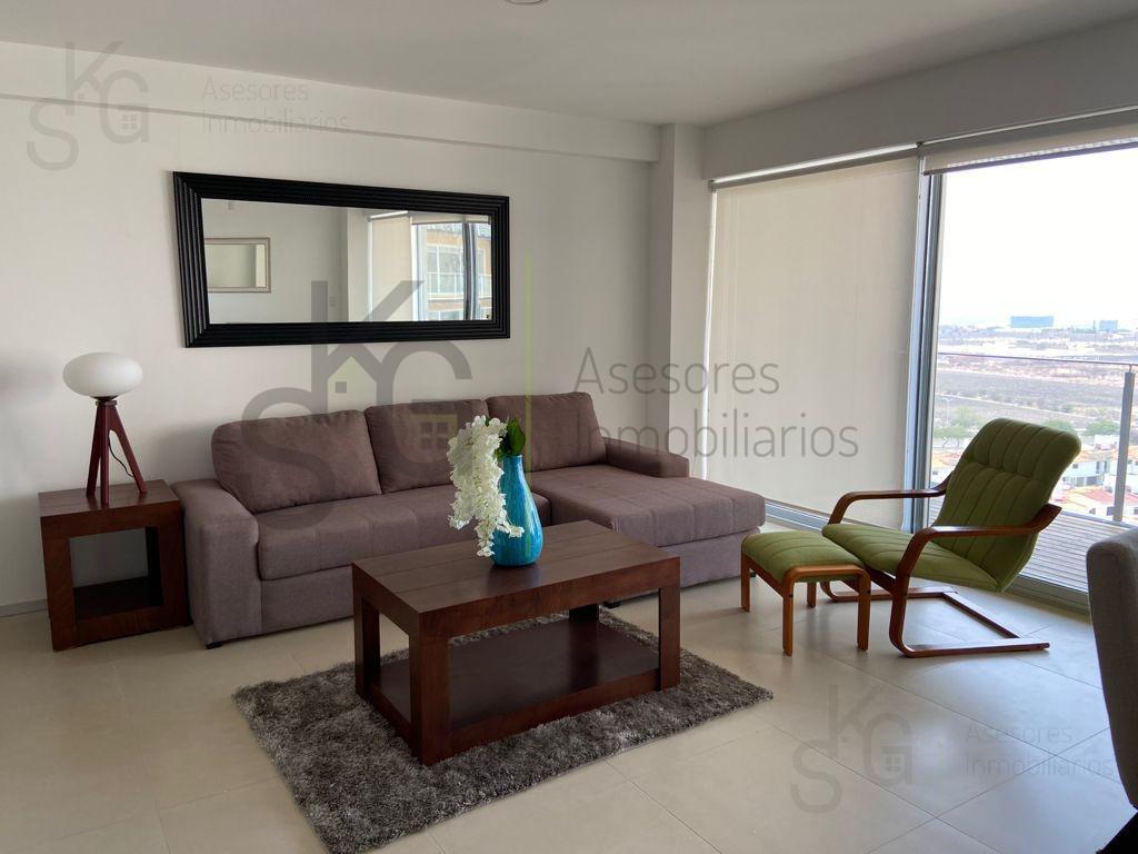 Foto Departamento en Venta en  Juriquilla,  Querétaro  SKG Asesores Inmobiliarios Vende Departamento en Residencial Biosfera Towers, Querétaro, 189m2