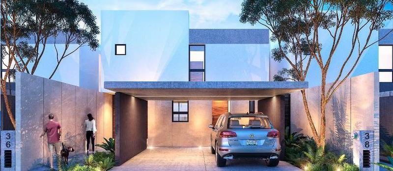 Foto Casa en condominio en Venta en  Pueblo Cholul,  Mérida  Palta 152 casa en venta (Mod E)Cholul,  Mérida Yucatán