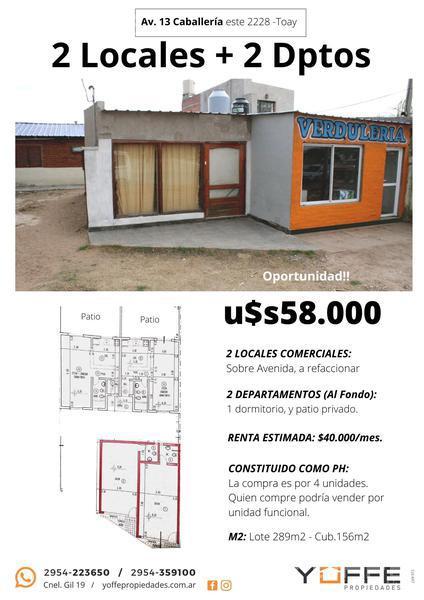Foto Local Comercial en Venta en  Toay ,  La Pampa  Toay