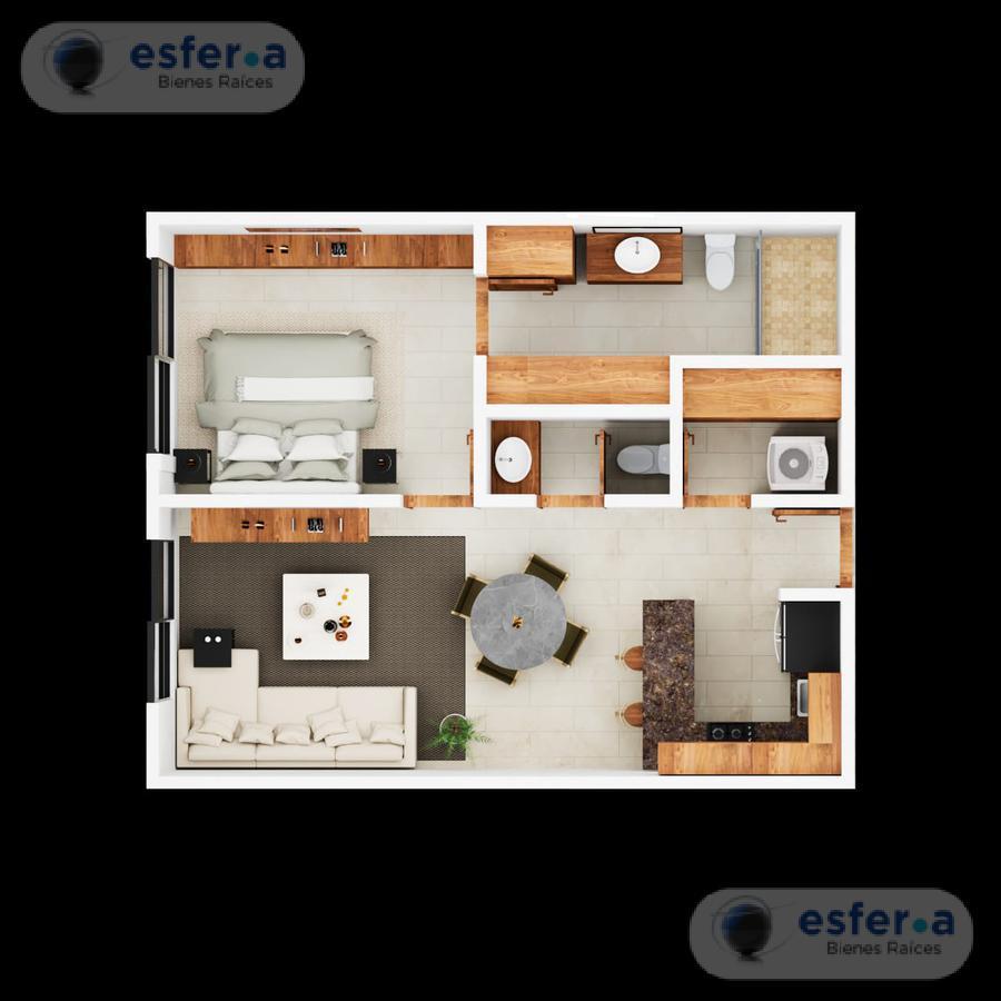 Foto Departamento en Venta en  Santa Gertrudis Copo,  Mérida  Departamento en venta en zona norte  Elemental homes