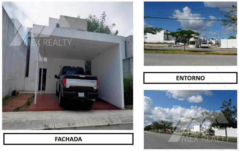 Foto Casa en Venta en  Bahía Dorada,  Cancún  Casa en Venta, Fracc. Bahía Dorada, Sm 320, 3 Recamaras, Cancún, Q. Roo, Cesión de Derechos sin Posesión, Solo Contado Muy Negociable, Clave 62722