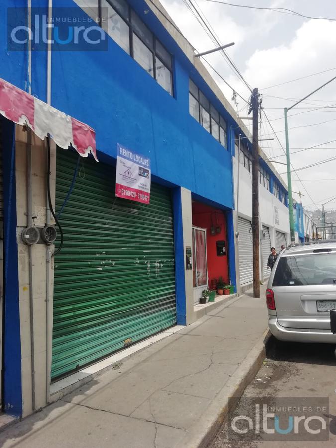 Foto Local en Renta en  Zopilocalco Sur,  Toluca  PEDRO CORTES al 100