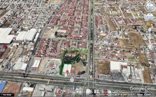 Foto Terreno en Venta en  San Mateo OxtotitlAn,  Toluca  TERRENO EN VENTA  4,700 m2 , Toluca , Edo de Mex