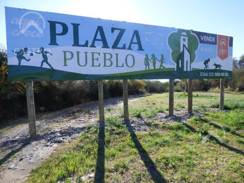 Foto Terreno en Venta en  Plaza Pueblo,  Merlo  Imperdible lote de 1.500 m2