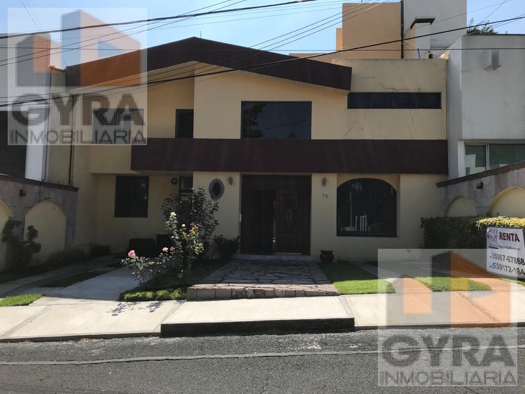 Foto Casa en Renta en  Ciudad Satélite,  Naucalpan de Juárez  Casa renta Fraccionamiento Cuicalli