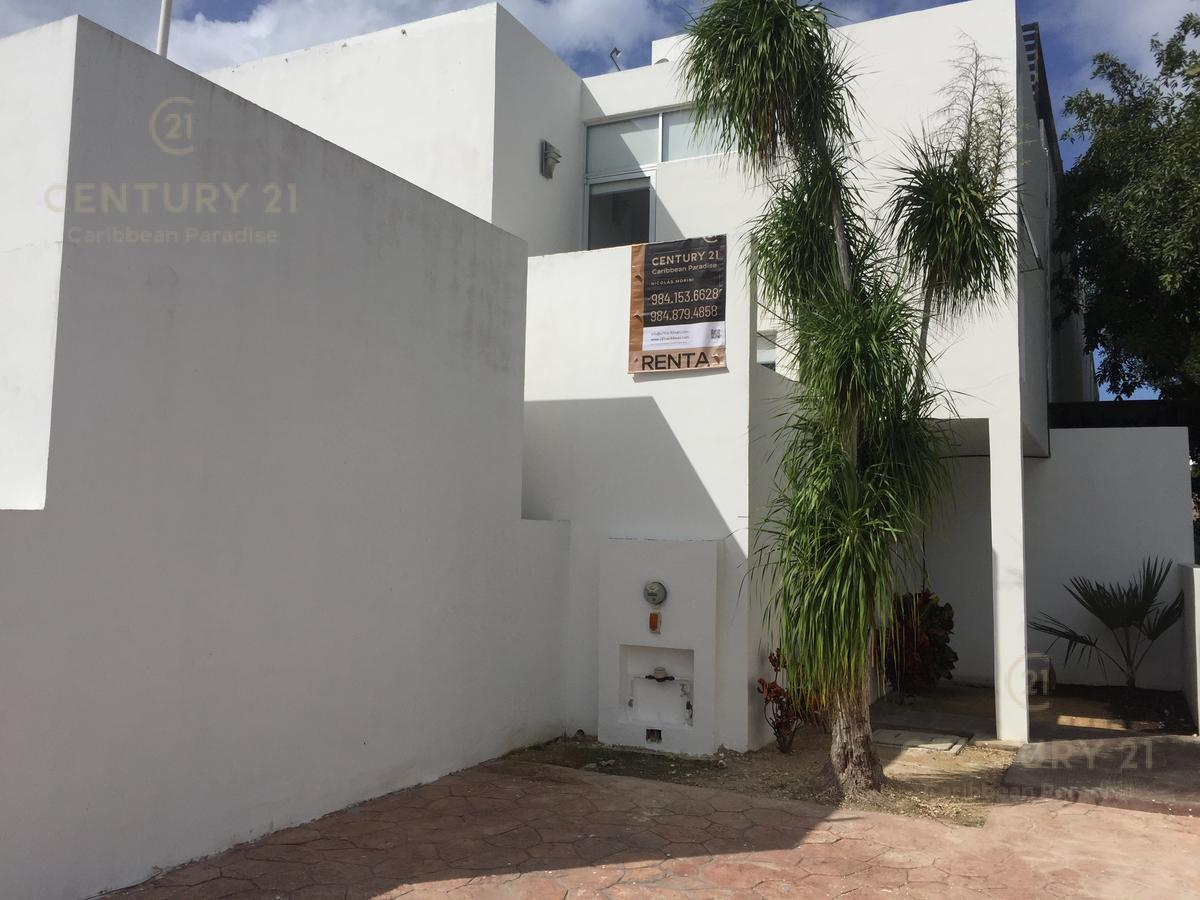 Foto Casa en Renta en  Playa del Carmen ,  Quintana Roo  Casa sin muebles de 3 recamaras en El Cielo, Playa del Carmen P3073