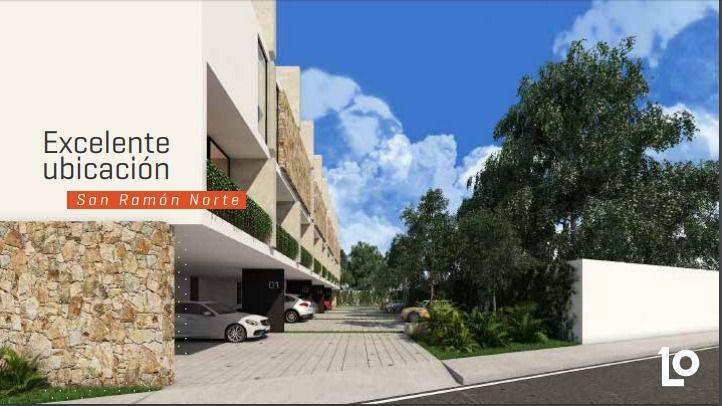 Foto Departamento en Venta en  San Ramon Norte,  Mérida  Touwnhouse en venta en planta baja en San Ramón Norte, Loften