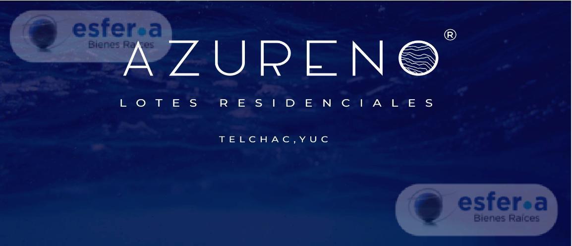 Foto Terreno en Venta en  Telchac Puerto ,  Yucatán  LOTES RESIDENCIALES AZURENO, TERRENOS EN VENTA TELCHAC PUERTO