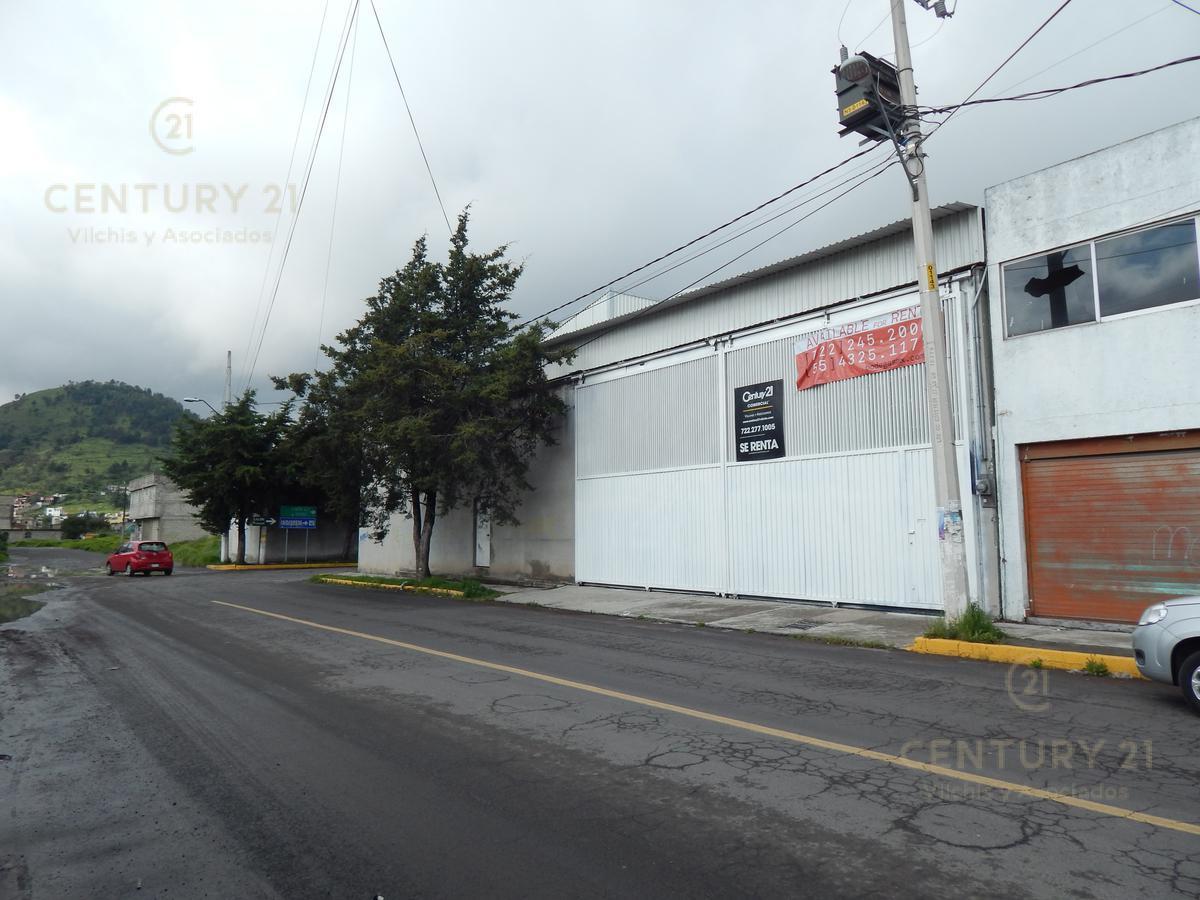 Foto Bodega Industrial en Renta en  Santa Cruz Azcapotzaltongo,  Toluca  Carril de la Loma esq. Mariano Salgado