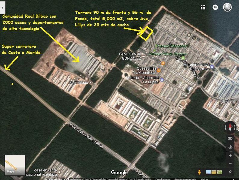 Playa del Carmen Land for Sale scene image 3