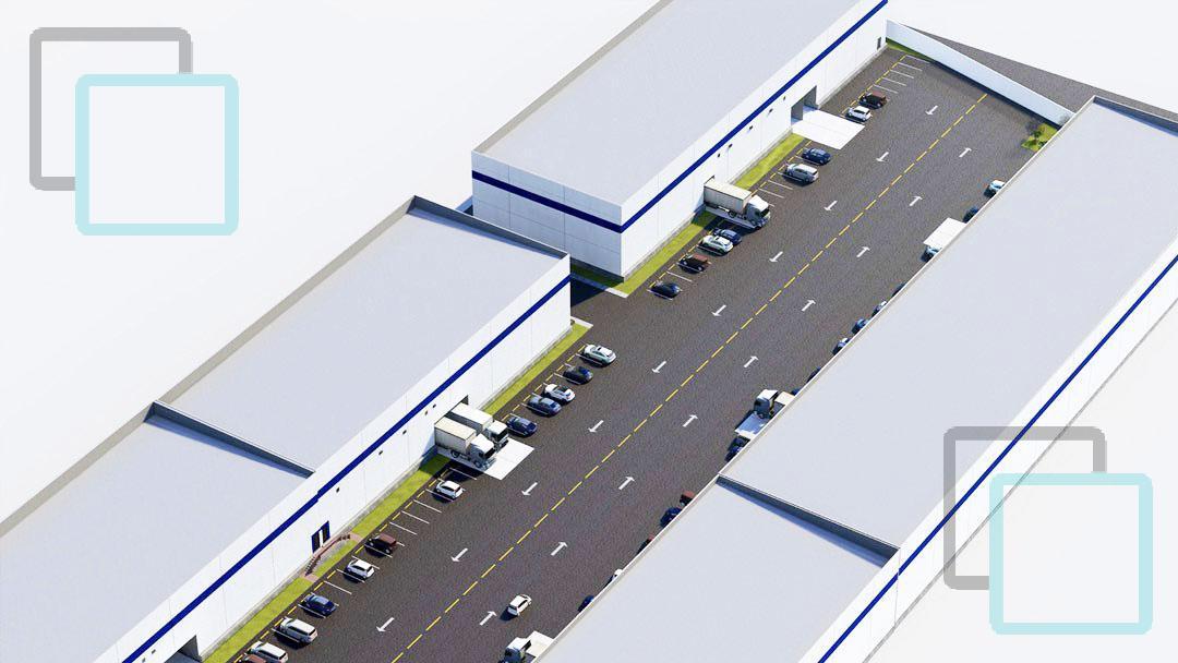 Foto Nave Industrial en Renta en  Cosmópolis 8vo. Sector,  Apodaca  NAVE INDUSTRIAL EN RENTA FRACCIONAMIENTO COSMOPOLIS ZONA APODACA