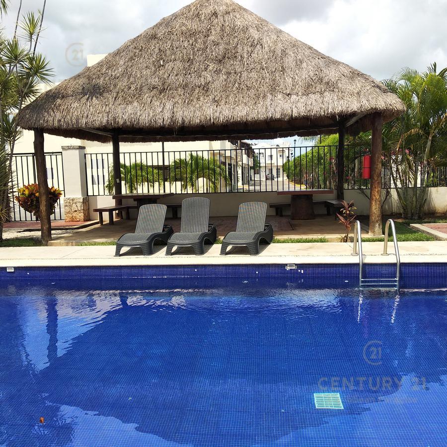 Foto Casa en Venta en  Playa del Carmen ,  Quintana Roo  OFERTA VENTA CASA 3 recamaras Real Ibiza con seguridad y alberca PLAYA DEL CARMEN P2322