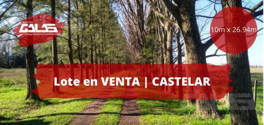 Foto Terreno en Venta en  Castelar Norte,  Castelar  Sarmiento y Alvarez Jonte