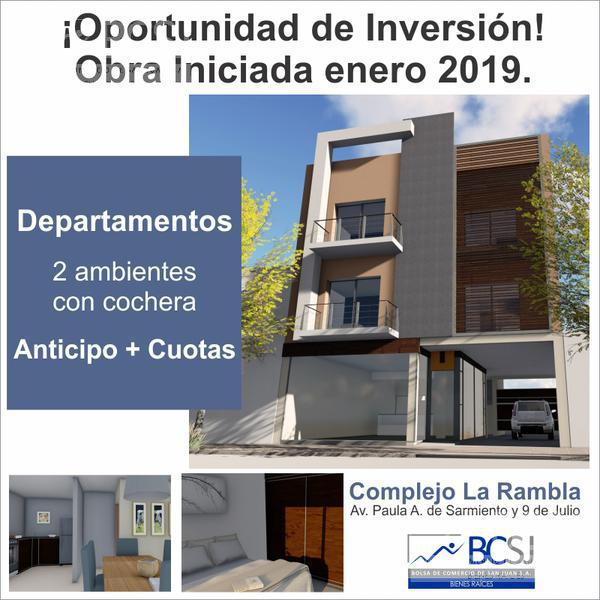 Foto Departamento en Venta en  Desamparados,  Capital  La Rambla - Paula A. Sarmiento y 9 de Julio