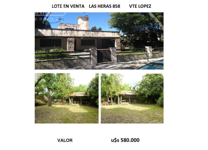Foto Terreno en Venta en  Vicente López ,  G.B.A. Zona Norte  Las Heras al 800