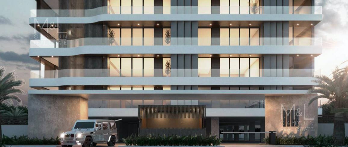 Foto Departamento en Venta en  Supermanzana 11,  Cancún  Departamento en Venta en Cancún, Icono Towers, de 2 recámaras