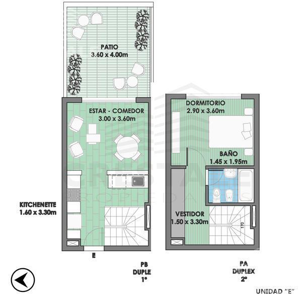 Venta departamento 1 dormitorio Rosario, zona Centro. Cod CBU10379 AP764055. Crestale Propiedades