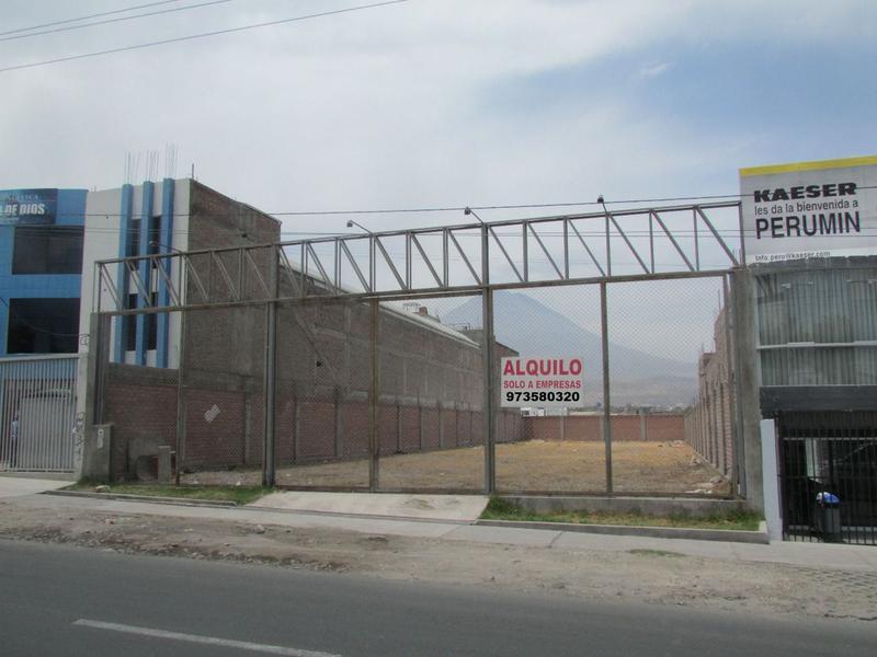 Foto Terreno en Alquiler en  Cerro Colorado,  Arequipa  TERRENO AVIACION