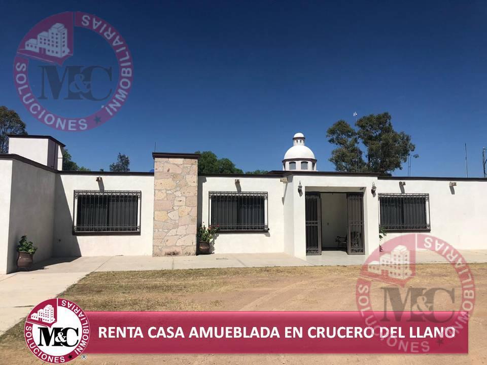 Foto Casa en Renta en  Ejido La Tinaja,  El Llano  MC RENTA CASA AMUEBLADA EN CRUCERO DEL LLANO