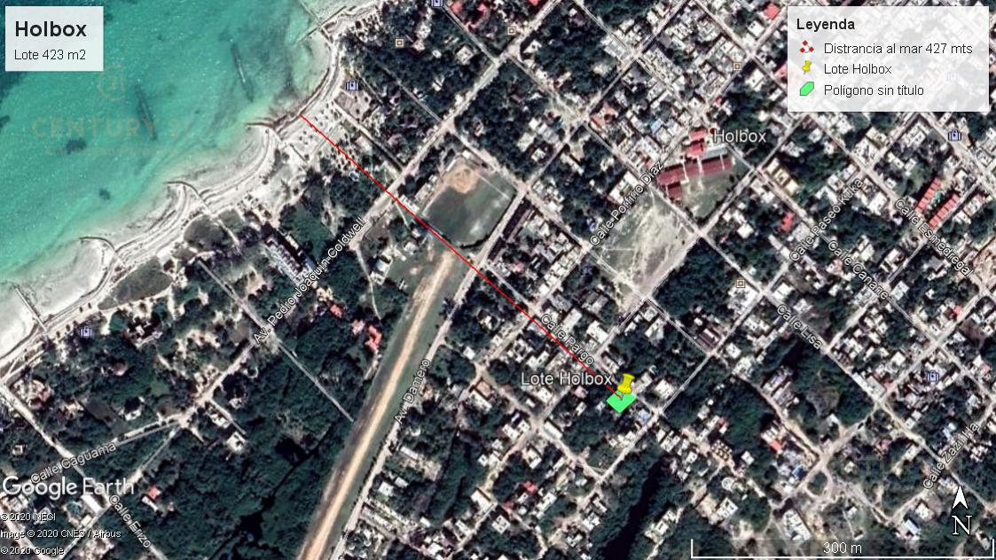 Foto Terreno en Venta en  Isla de Holbox,  Lázaro Cárdenas  Lote de 423 m2 en el centro de Holbox P3175