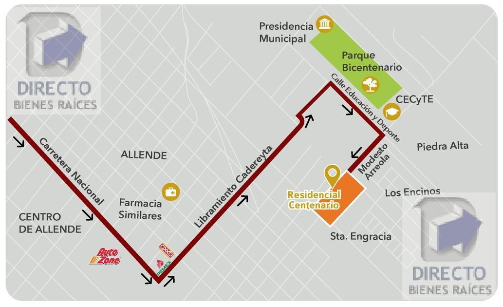 Foto Casa en Venta en  Independencia,  Allende  Residencial Centenario Allende , Nuevo Leon