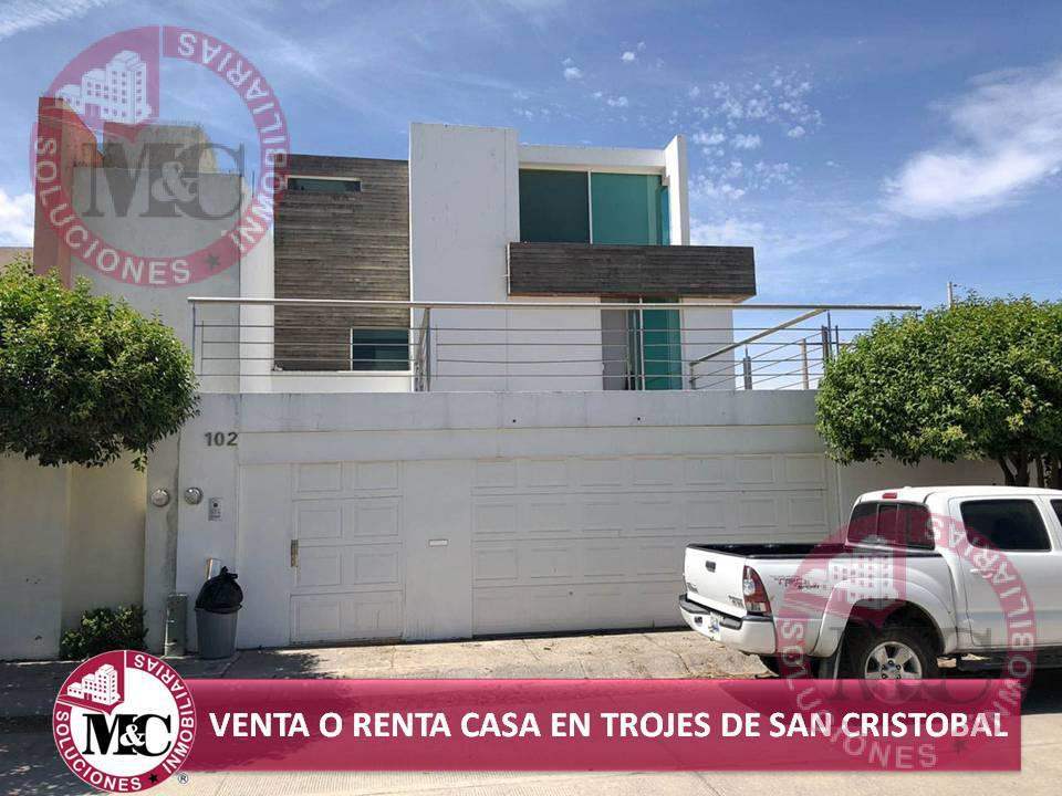 Foto Casa en Venta | Renta en  Fraccionamiento Trojes de San Cristóbal,  Jesús María  MC VENTA O RENTA CASA EN TROJES DE SAN CRISTÓBAL, AL NORTE DE AGUASCALIENTES