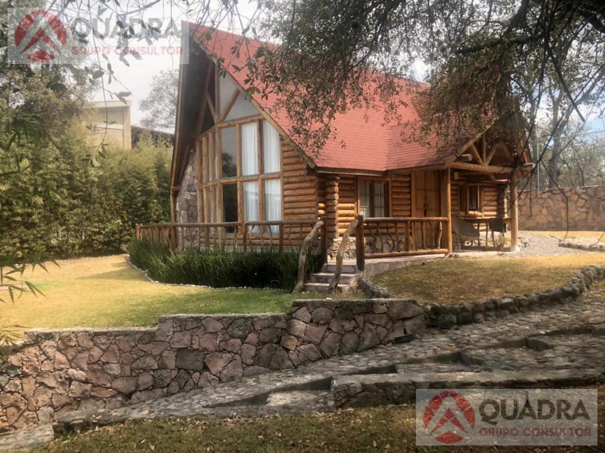 Foto Casa en Venta en  Conjunto habitacional Campestre Haras,  Amozoc  Cabaña en Venta en Haras del Bosque Puebla