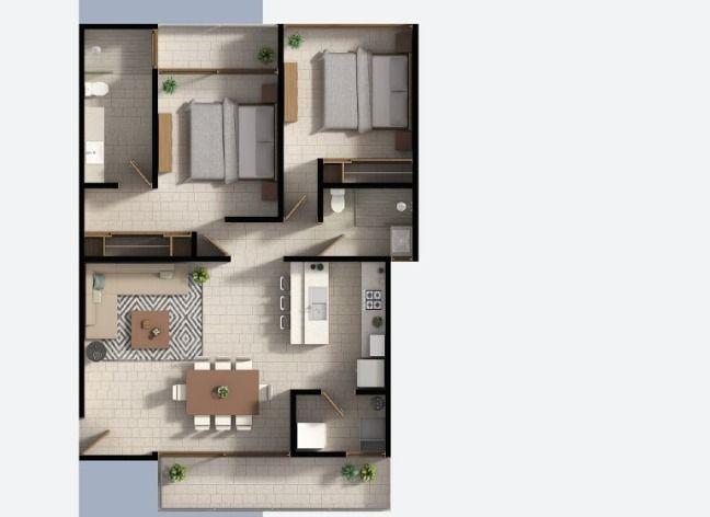 Aldea Zama Departamento for Venta scene image 9