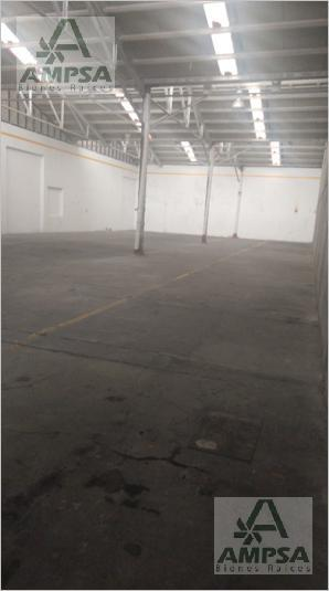 Foto Bodega Industrial en Renta |  en  Santa Lucia,  Azcapotzalco          Tochtli
