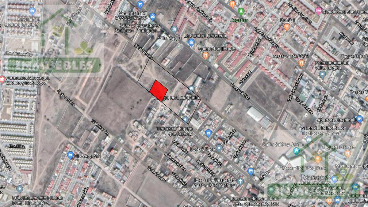 Foto Terreno en Venta en  Ampliación San Antonio,  Pachuca  Ampliación San Antonio
