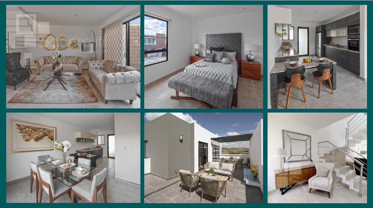 Foto Casa en Venta en  Fraccionamiento Lomas de  Angelópolis,  San Andrés Cholula  Pre-venta Casa Nueva de tres niveles en Altaria Residencial, Cascatta II