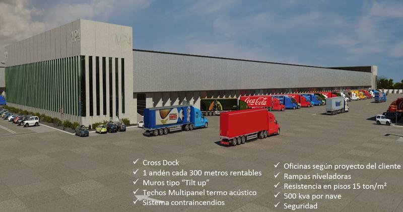 Foto Nave Industrial en Renta en  Las Animas,  Tepotzotlán  MEGAPARK - ESTADO DE MEXICO - TEPOTZOTLAN