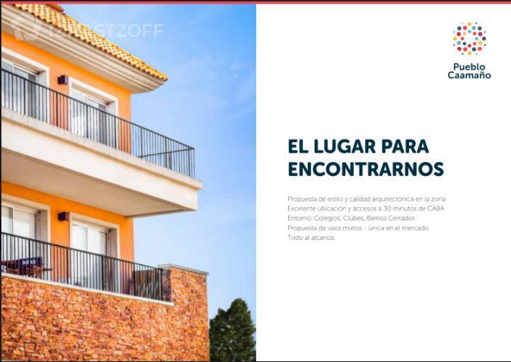 Departamento-Venta-Pilar-Pueblo Caamaño - Icono Sur