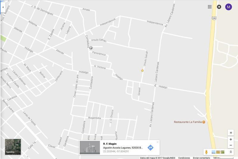 Foto Terreno en Venta en  Lindavista,  Pueblo Viejo  TERRENO HABITACIONAL COLONIA ACOSTA LAGUNES PUEBLO VIEJO,VERACRUZ
