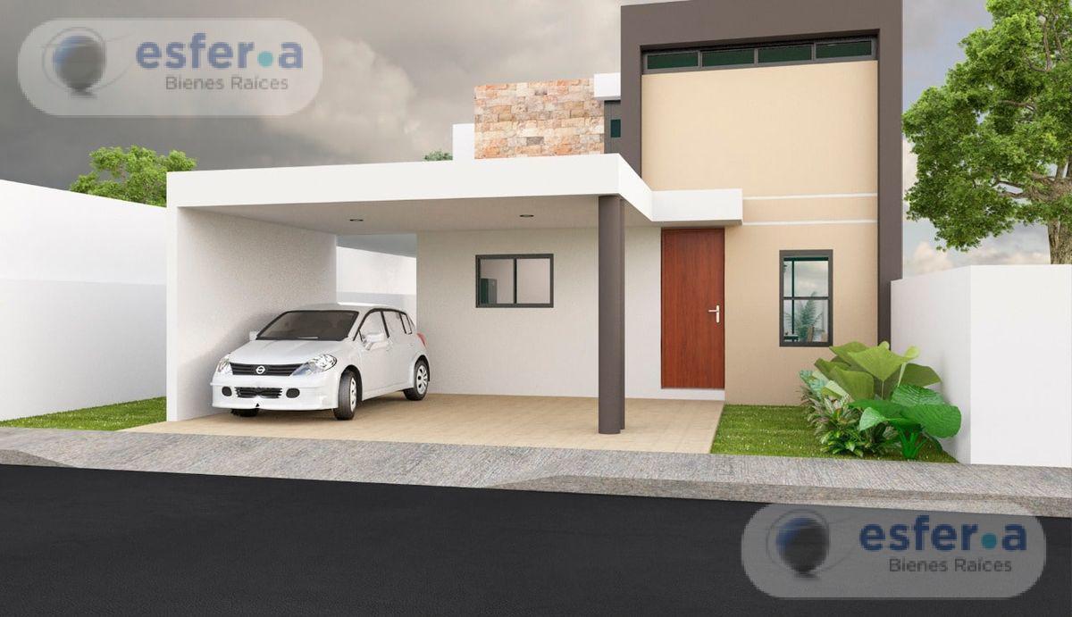 Foto Casa en Venta en  Conkal ,  Yucatán  CASA DE DOS PISOS  EN PRIVADA CANARIA CONKAL