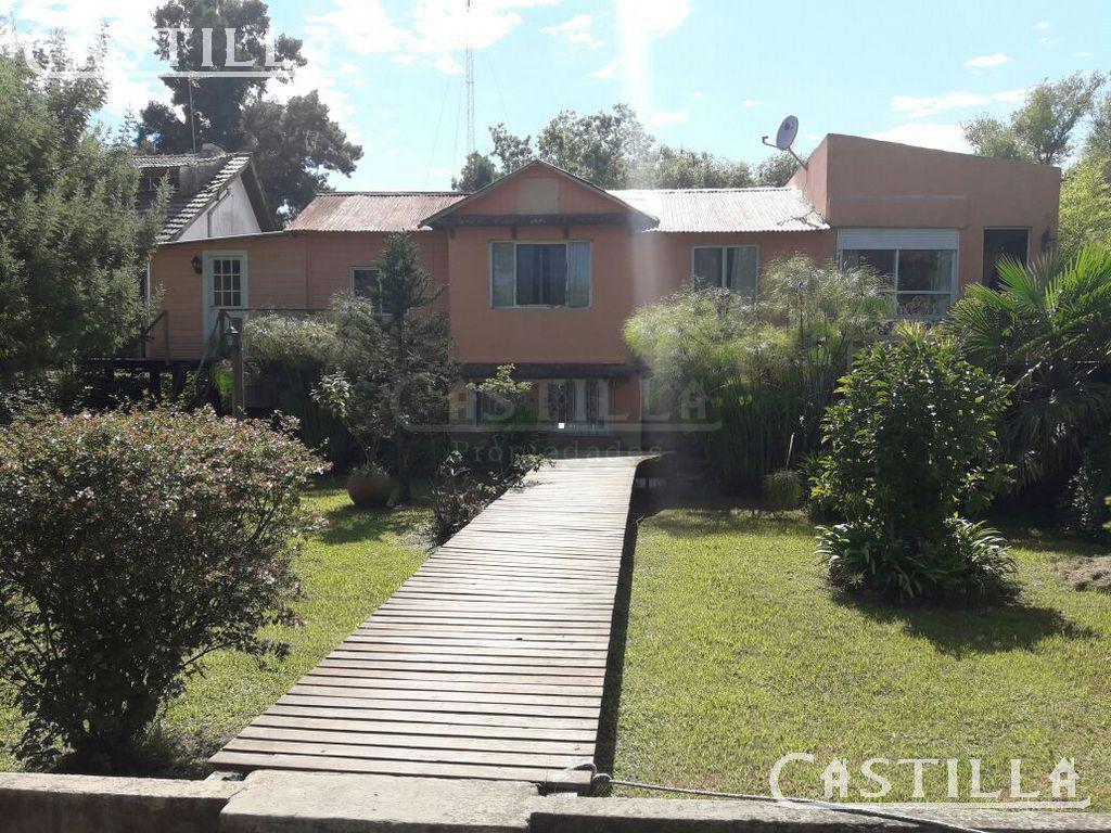 Foto Casa en Venta en  Carapachay,  Zona Delta Tigre  RIO CARAPACHAY muelle El Arcangel