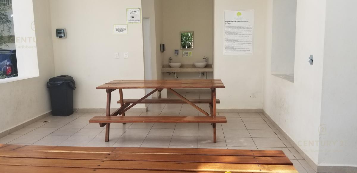 Foto Departamento en Renta en  Playa del Carmen,  Solidaridad  RENTA Departamento de 3 rec Selvanova CASA CLUB Y GYM Planta Baja Playa Del Carmen P3067