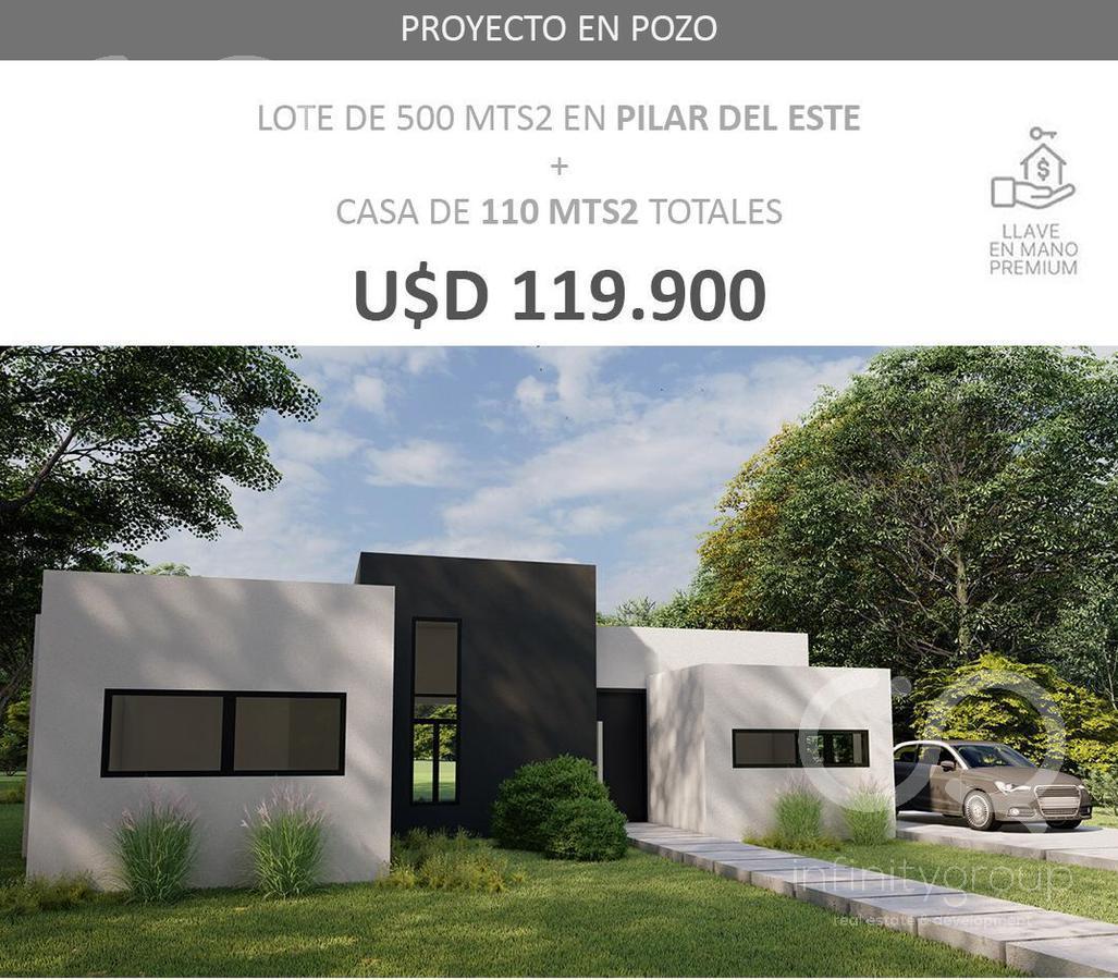Foto Casa en Venta en  Pilar Del Este,  Countries/B.Cerrado (Pilar)  Lote Casa en Desarrollo Pozo en Pilar del Este